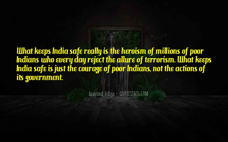 Quotes About Terrorism In India #996101