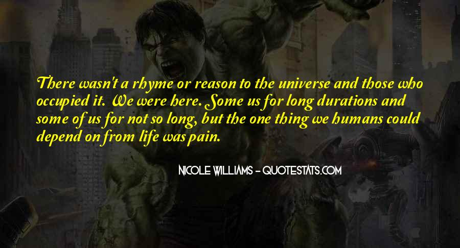 Quotes About Humans And The Universe #1621550