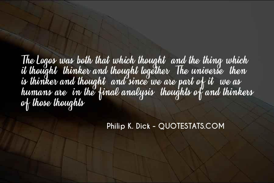 Quotes About Humans And The Universe #1625155