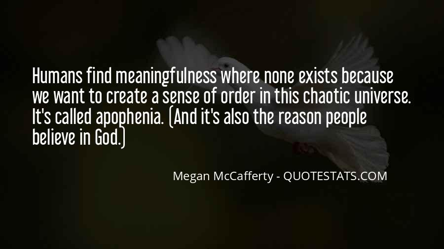 Quotes About Humans And The Universe #165037