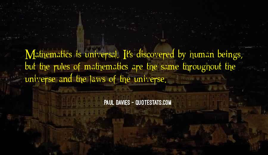 Quotes About Humans And The Universe #775880