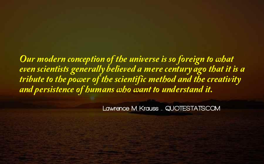 Quotes About Humans And The Universe #80604