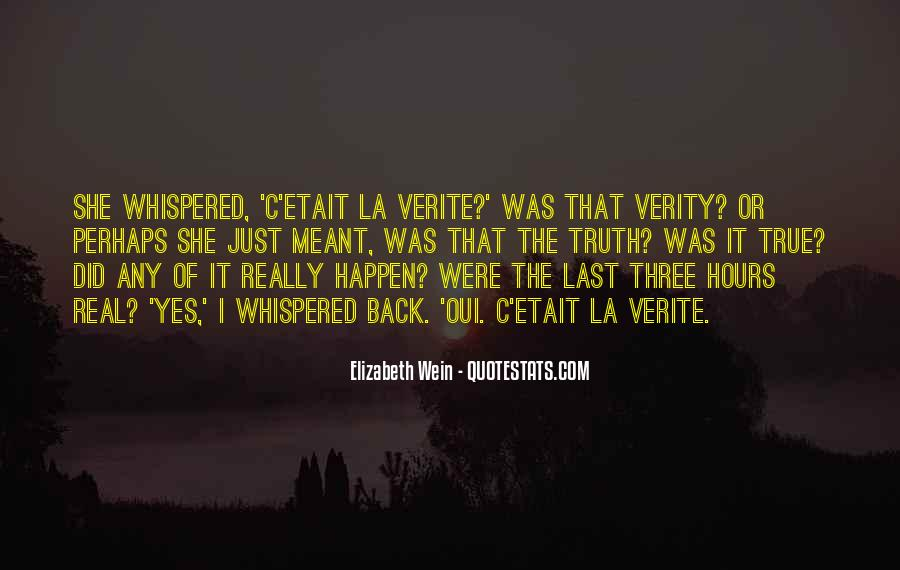 Quotes About Verity #642774