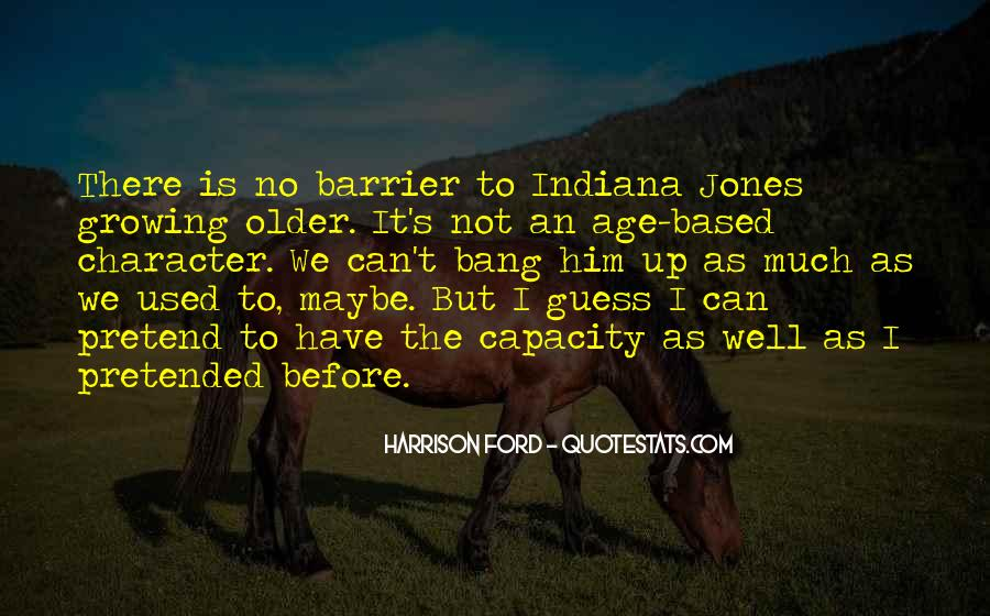 Quotes About Growing Up In Indiana #1496890
