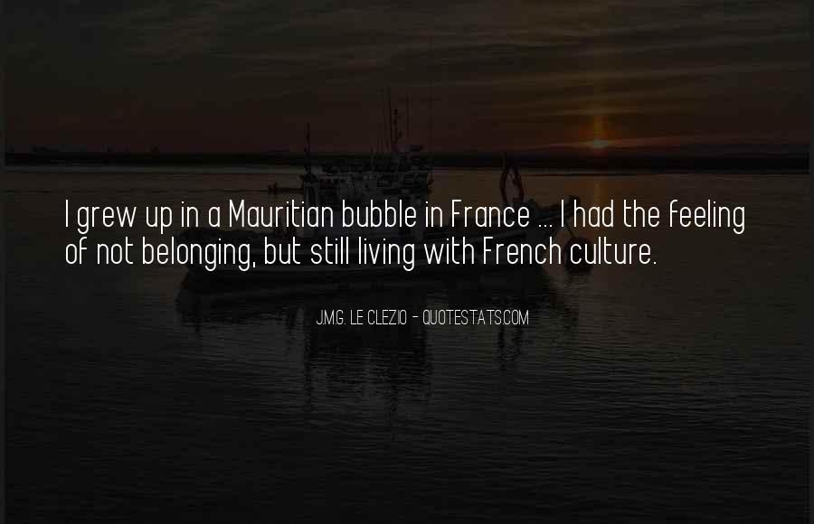 Quotes About Not Belonging #108095