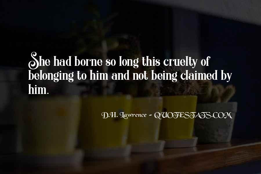 Quotes About Not Belonging #1272983