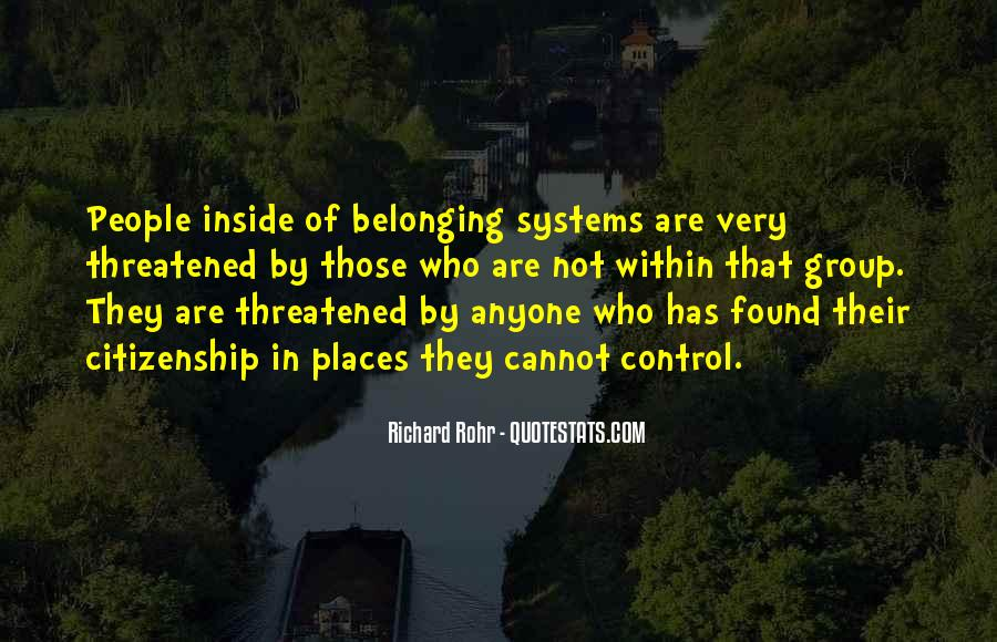 Quotes About Not Belonging #1346424
