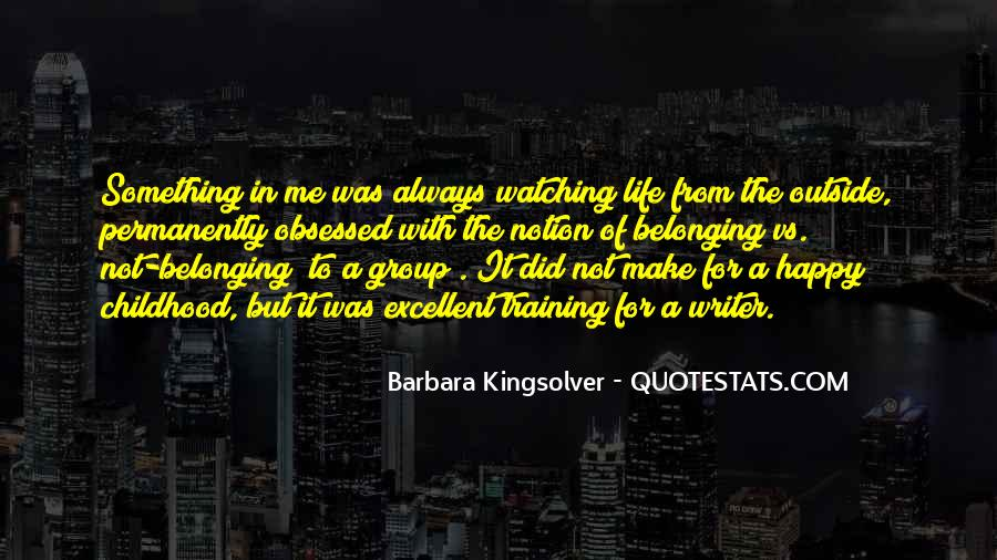 Quotes About Not Belonging #406222