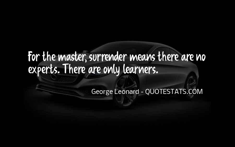 Quotes About Mastery Learning #600888