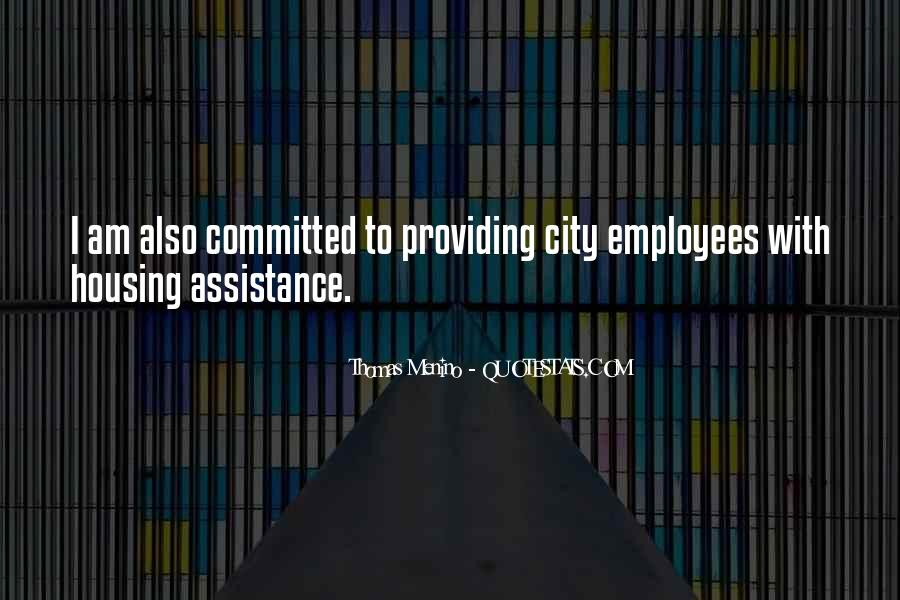 Quotes About Assistance #181570