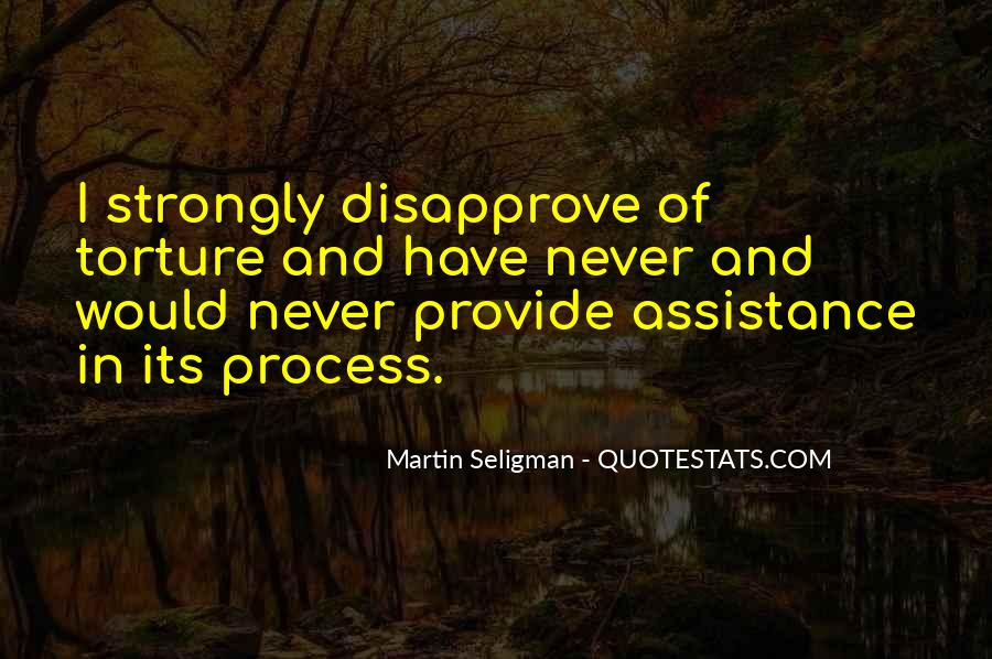 Quotes About Assistance #204871