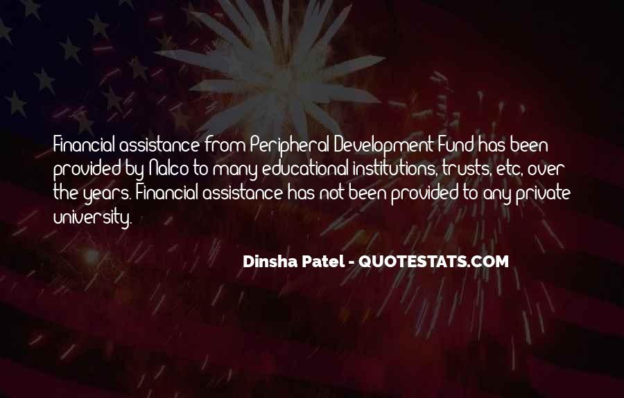Quotes About Assistance #224284