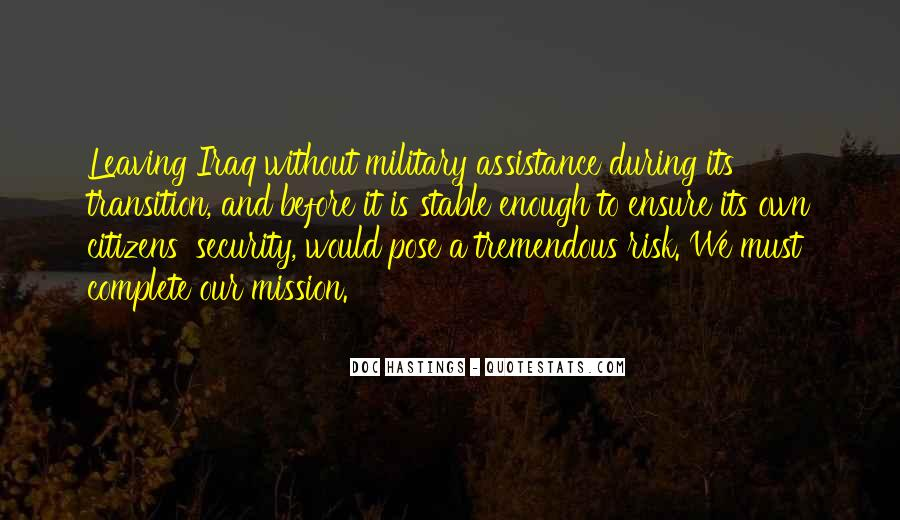 Quotes About Assistance #260981