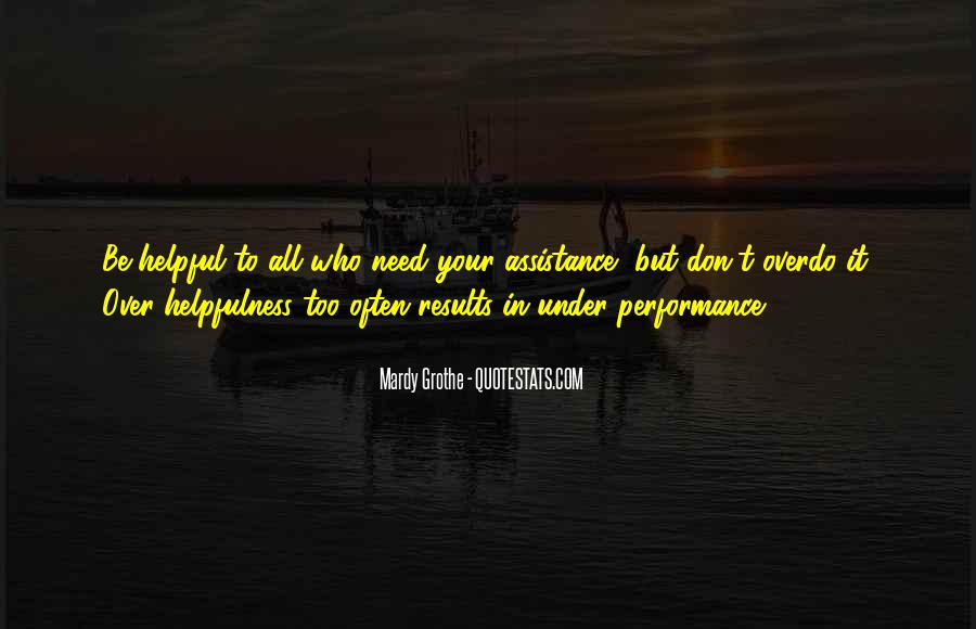 Quotes About Assistance #270621