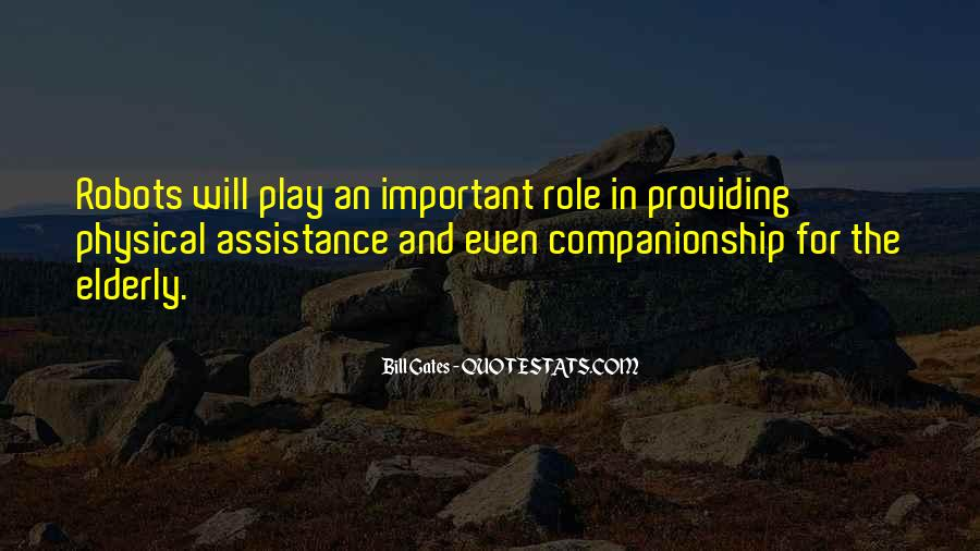Quotes About Assistance #351269