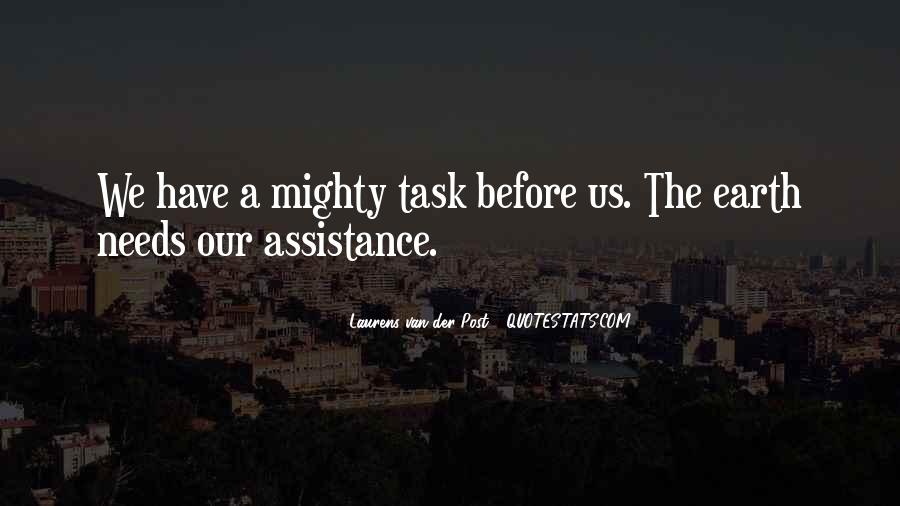 Quotes About Assistance #360918
