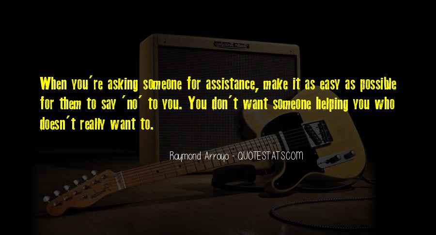 Quotes About Assistance #442129