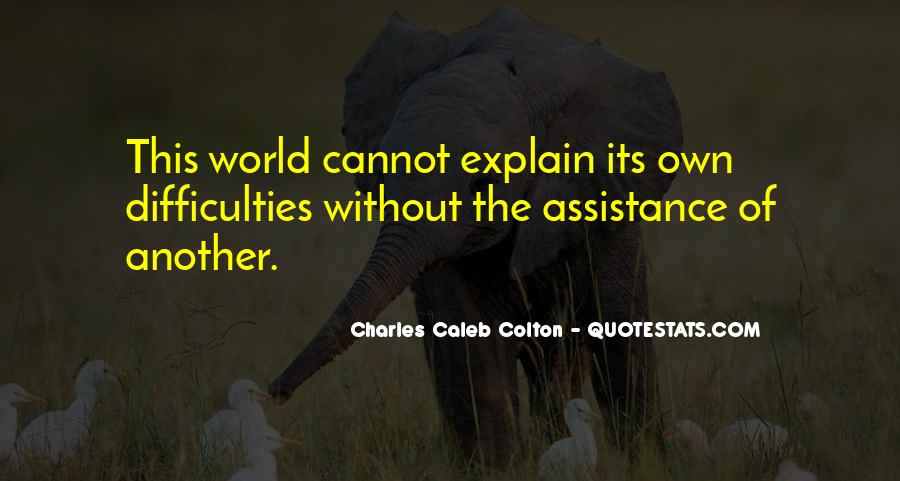 Quotes About Assistance #81479
