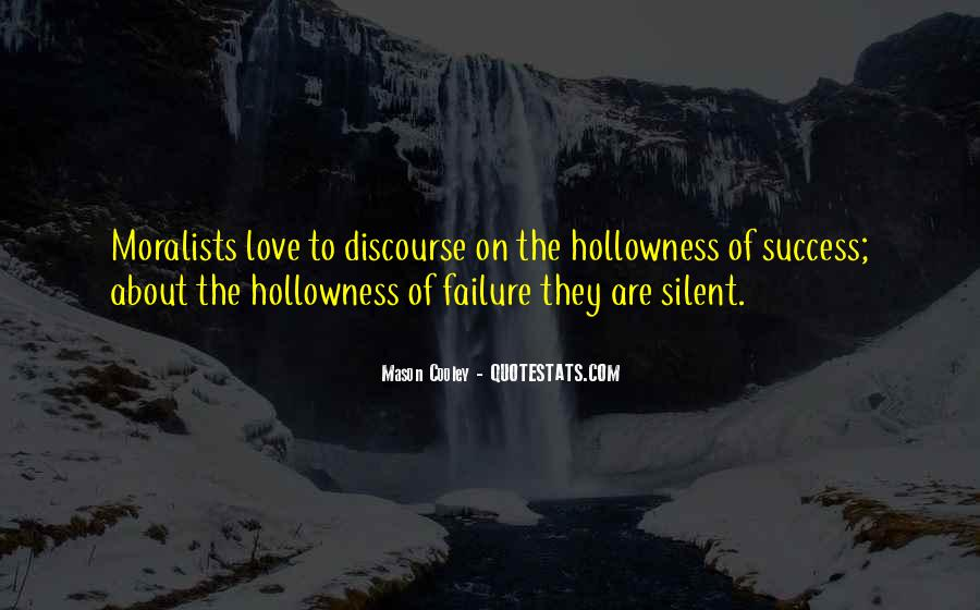 Quotes About Silent Success #1160650