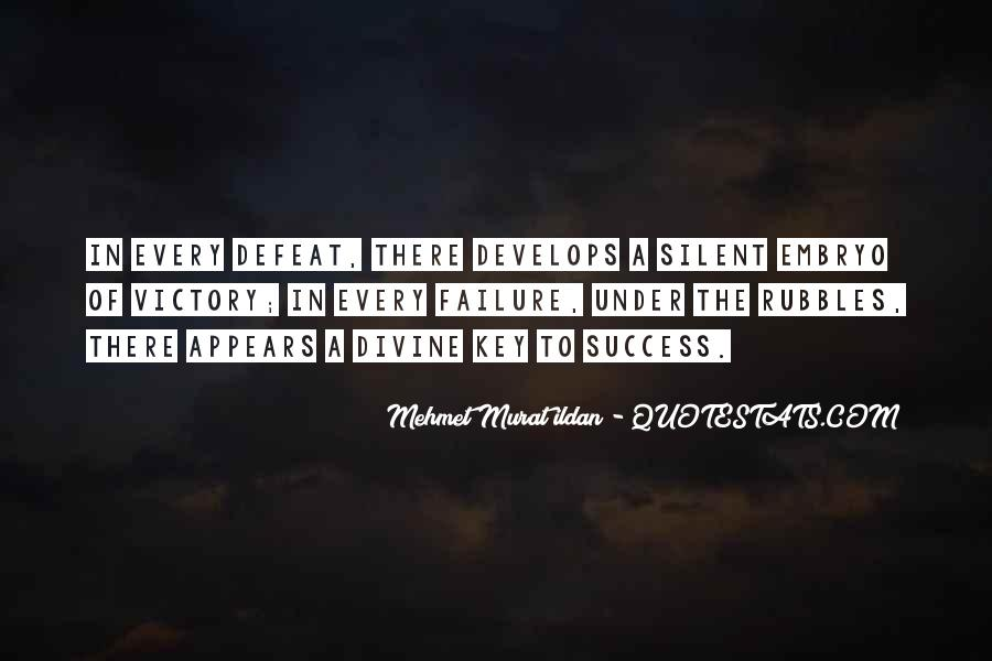 Quotes About Silent Success #1663713