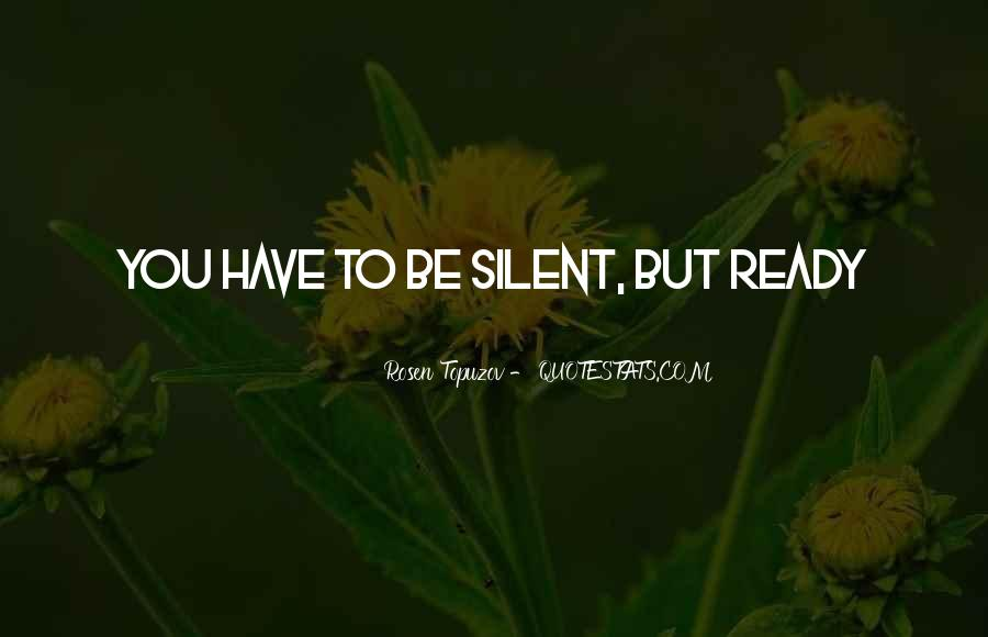 Quotes About Silent Success #615121