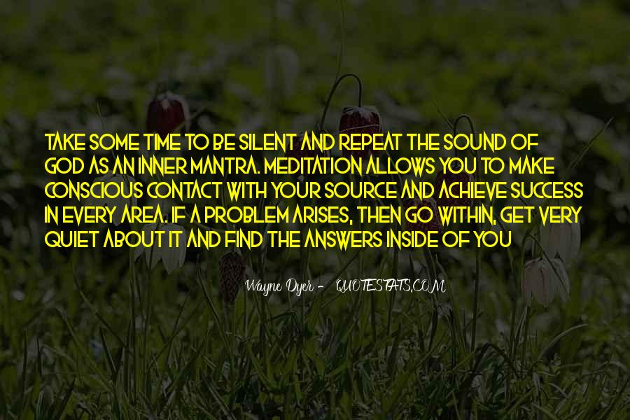 Quotes About Silent Success #655200