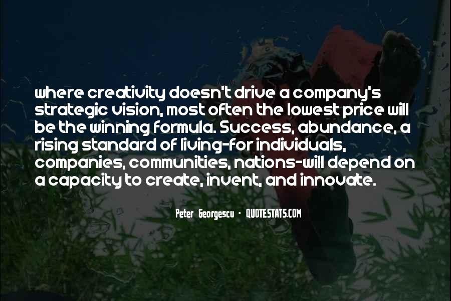 Quotes About Strategic Vision #1199039