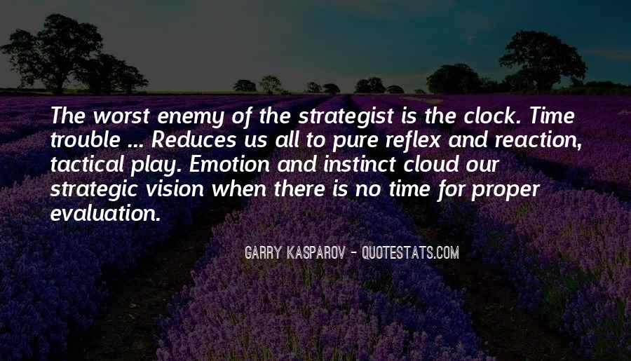 Quotes About Strategic Vision #1315421