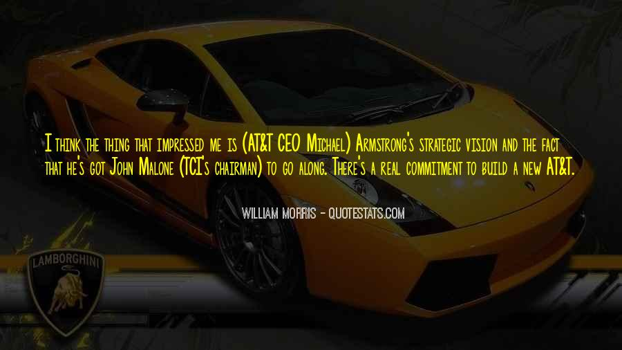 Quotes About Strategic Vision #1626340