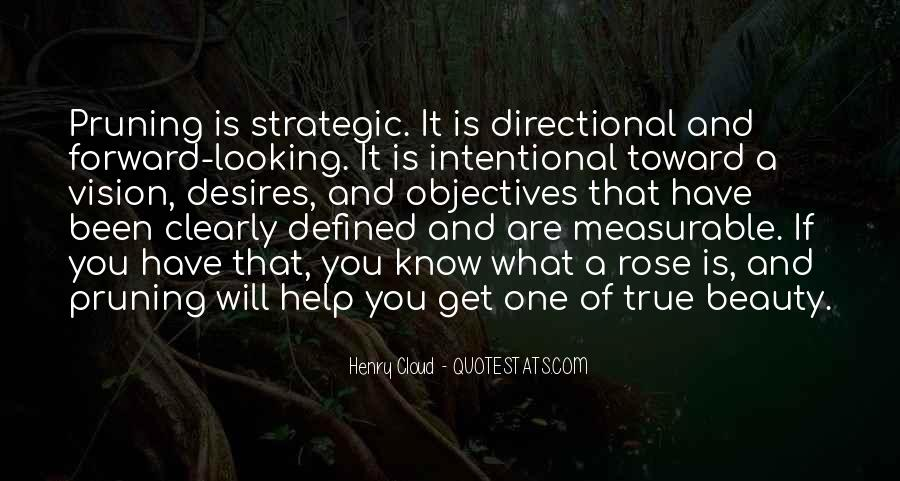 Quotes About Strategic Vision #274871