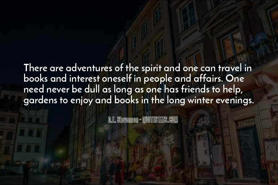 Quotes About Adventures And Friends #201824