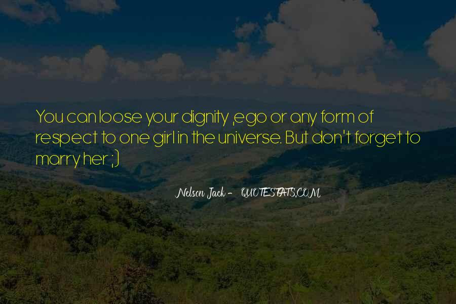 Quotes About Ego And Self Respect #1383202