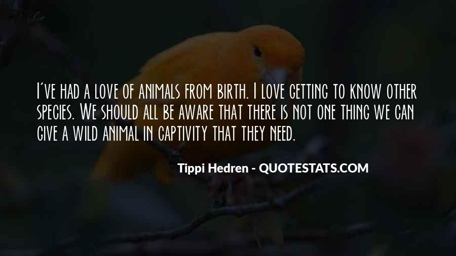 Quotes About Animals In Captivity #804195