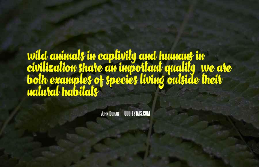 Quotes About Animals In Captivity #840204
