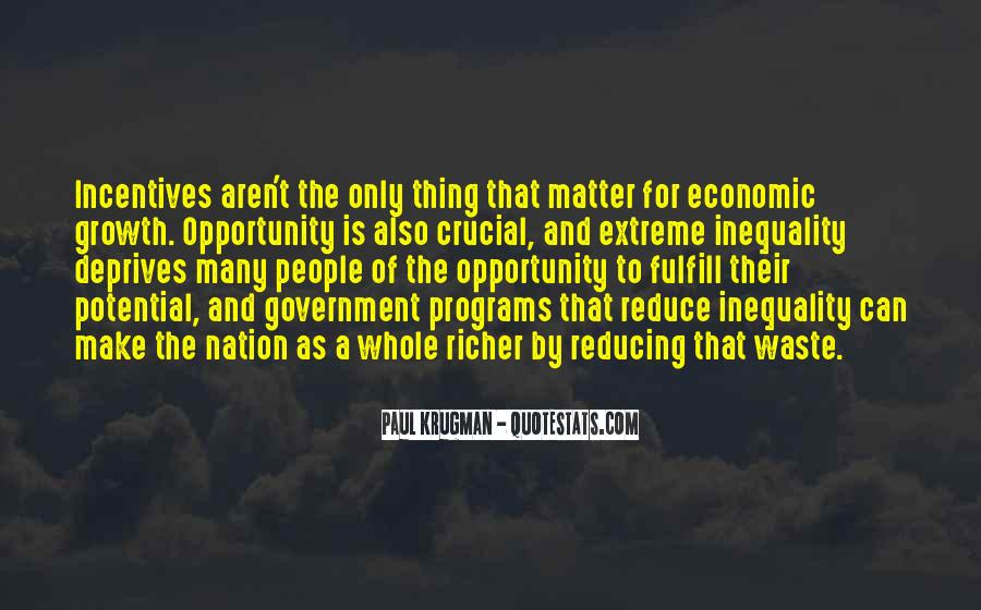 Quotes About Economic Inequality #1039345