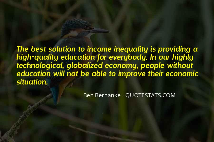 Quotes About Economic Inequality #1047033