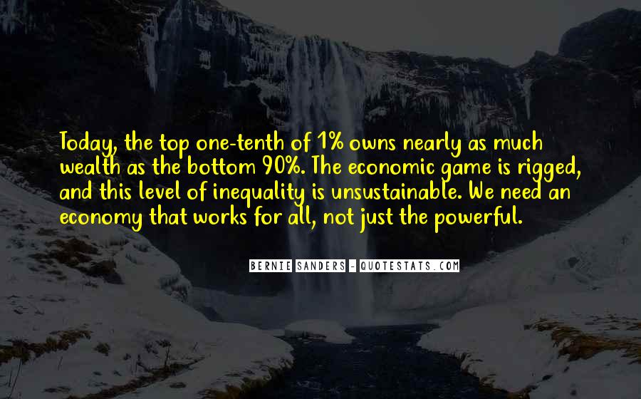 Quotes About Economic Inequality #1564745