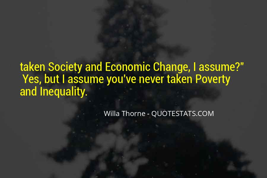 Quotes About Economic Inequality #1803763