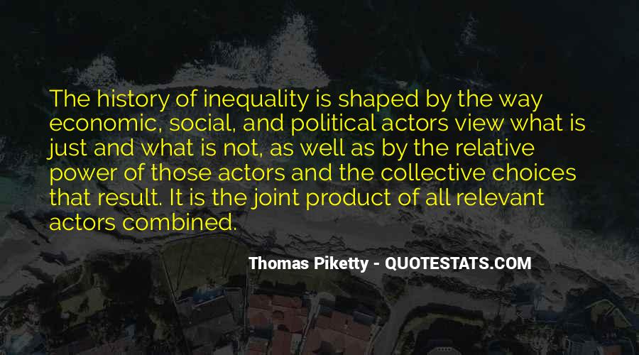 Quotes About Economic Inequality #241613