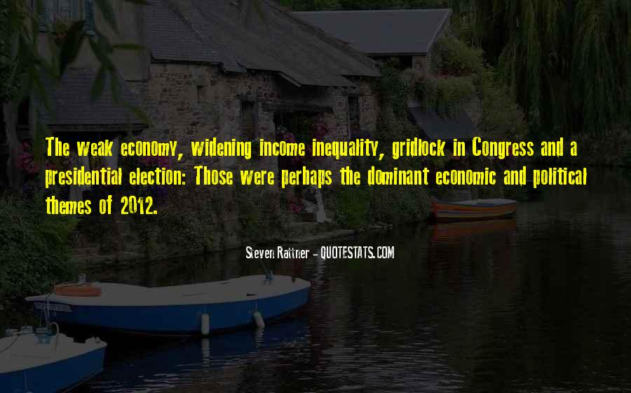 Quotes About Economic Inequality #395487