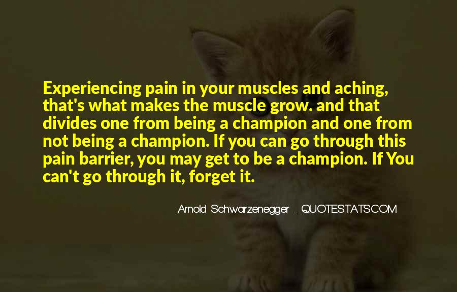 Quotes About Bodybuilding Pain #136704