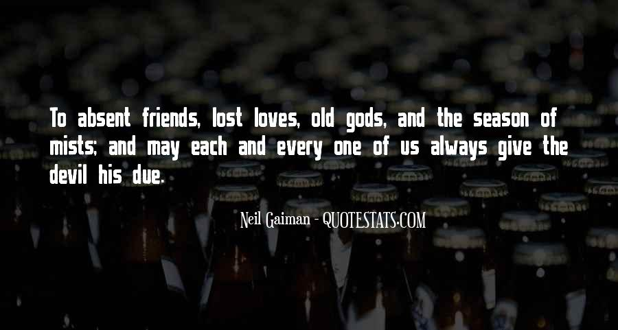 Quotes About Loves Lost #785312