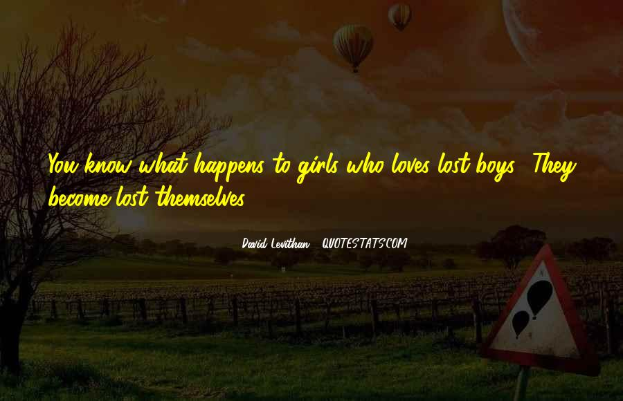 Quotes About Loves Lost #806043