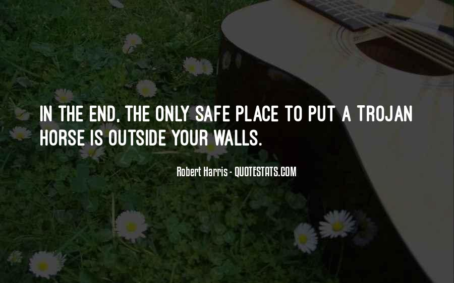 Quotes About Walls Put Up #1568307