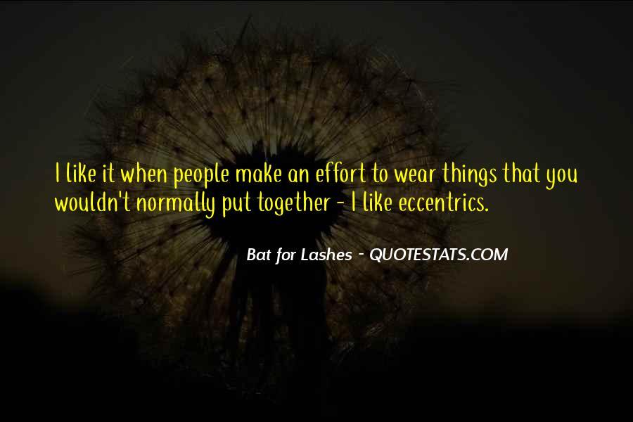 Quotes About Eccentrics #372765