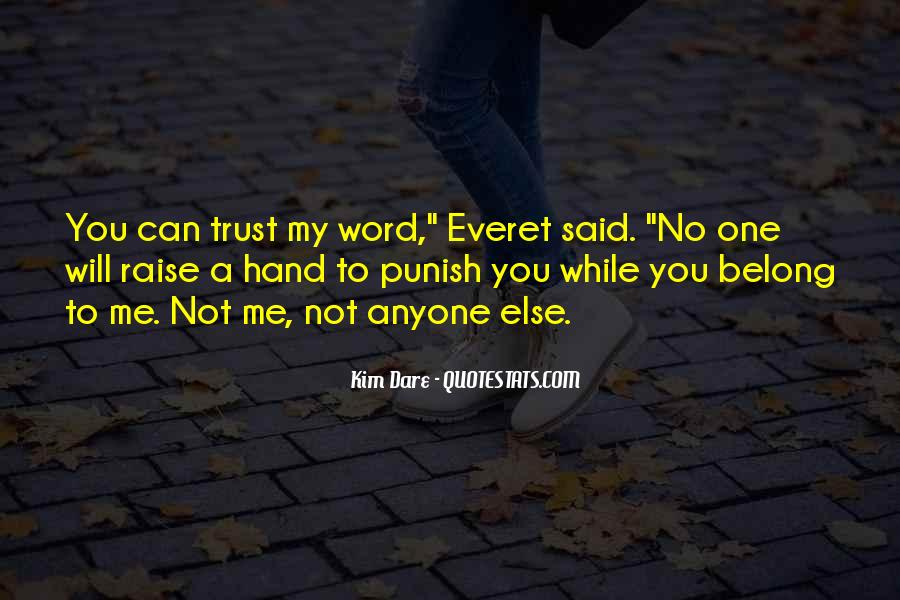 Quotes About No One Word #14794