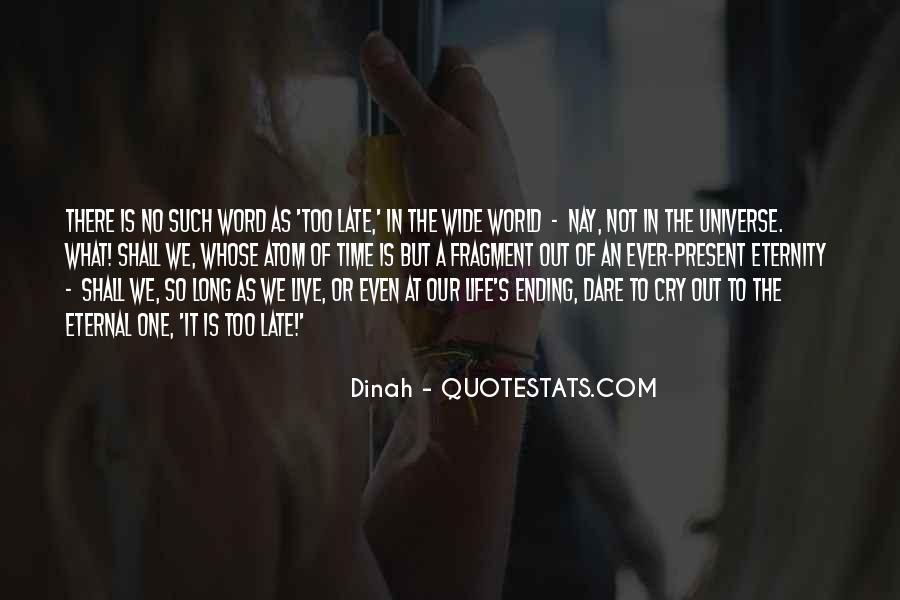 Quotes About No One Word #393943