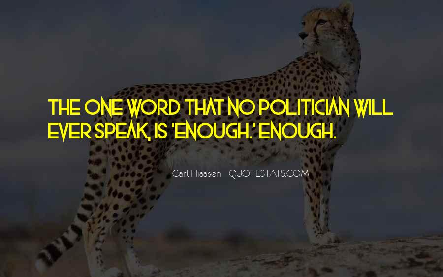 Quotes About No One Word #655064