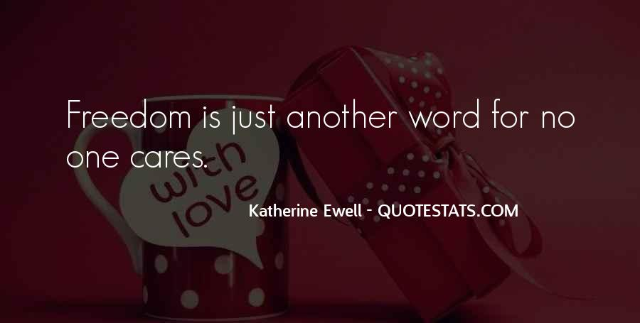 Quotes About No One Word #709767