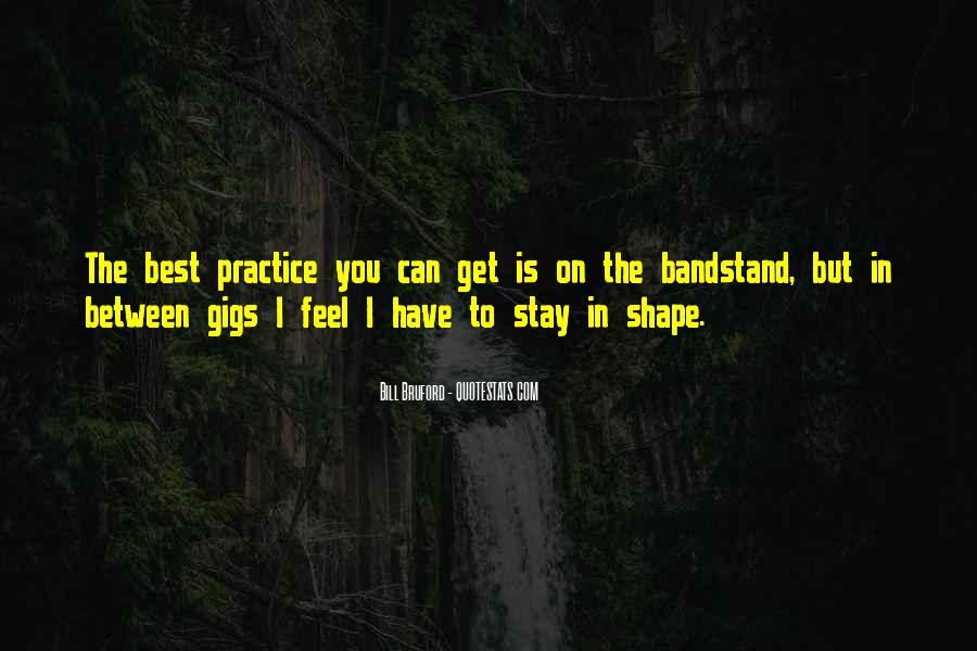Quotes About Gigs #138264